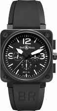 BR-01-94-CARBON | BRAND NEW BELL & ROSS INSTRUMENTS BR 01-94 CARBON MEN'S WATCH