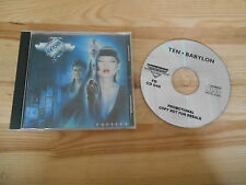 CD Metal TEN-Babilonia (10) canzone PROMO Now & Then PROD/Frontiers