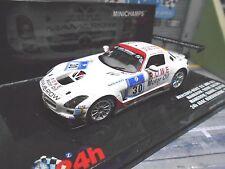 MERCEDES BENZ SLS AMG GT3 24h Nürburgring 2011 ROWE #30 Mamerow Minichamps 1:43