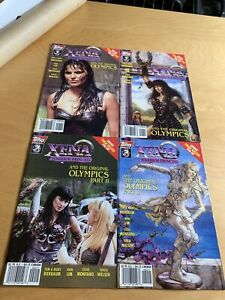 Xena Warrior Princess Comic The Olympics 4x Art & Photo Covers Dark Horse