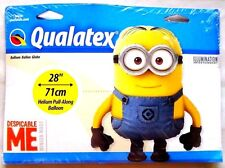 NEW! Qualatex Despicable Me Balloon 28 in Pull Along Minions Minion Dave Two eye