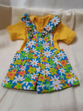 Flowery Shortalls 2 piece outfit fits Tonner Magic Attic