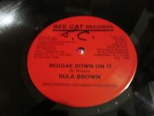 RULA BROWN - Reggae down on it 12' BEE CAT killer 84 Digi Roots