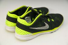 Womens NIKE Free TR Fit 5 Black Runners Sneakers Shoes Size US 8 / 39 25cm