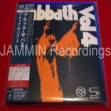 BLACK SABBATH - Black Sabbath, Vol. 4 - JAPAN MINI LP SACD SHM - OUT OF PRINT CD
