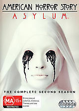 AMERICAN HORROR STORY ASYLUM - SECOND SEASON / 2 - BRAND NEW & SEALED 4-DISC DVD