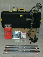 Loaded, Right Handed Mathews Monster Chill X Lost Camo Bow Package-w/Case
