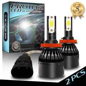 9007 HB5 LED Headlight Bulbs 6000K Advanced CREE COB Chips IP68 Waterproof Light