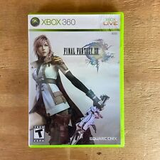 Final Fantasy XIII 13 ORIGINAL (Xbox 360, 2010) Complete