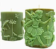 Fairy catturare una farfalla Ovale Stampo in silicone per candele e altre attività artigianali