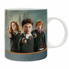 Harry Potter - Keramik Tasse - Harry Hermine Ron - Hogwarts - Geschenkbox