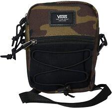 Vans Bail Camo Crossbody Shoulder Messenger Bag Pack Black VN0A3I5S97I NEW!!