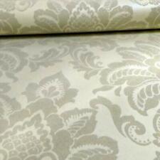 Arthouse Glisten Damask Pattern Floral Metallic Glitter Pearl Wallpaper 673202