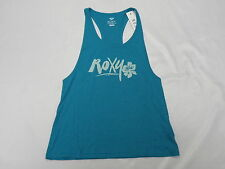 Roxy Woman Island Cove Roxy Fashion Racer C Blue (BNW0) Tank Top Sz Medium
