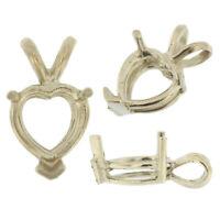 30//150PCS Tibetan Silver Musical Note Charms Pendentif Pour Bracelet 27x11mm