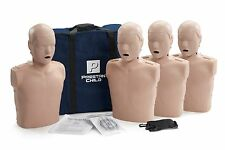 Prestan AED CPR Training Manikins 4 Pack CHILD Medium Skin PP-CM-400-MS
