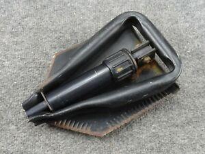 Original US Military 1982 Ames Fold Up Shovel Entrenching E-Tool Trench Tri Fold
