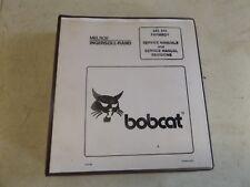 Bobcat Service Manual 440 443 Melroe Ingersoll-Rand
