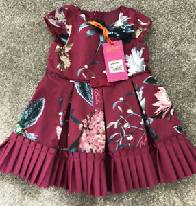 Ted Baker Baby Girls Dress 3-6 Months BNWT