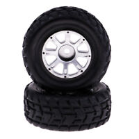 2Pcs 1/18 4WD RC Buggy Left Tire Tyres for Wltoys A949 Radio Control Models