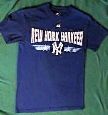 NEW YORK YANKEES DARK BLUE T-SHIRT- UNISEX