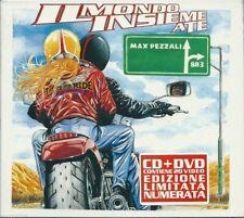 Max Pezzali. Il Mondo Insieme a Te (2004) CD+DVD NUOVO SIGILLATO Limited Edition