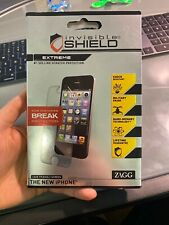 ZAGG InvisibleShield EXTREME for Apple iPhone 5 screen protector NEW