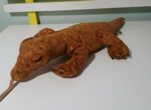 KOMODO DRAGON PLUSH TOY WILD REPUBLIC K&M Stuffed Plush 60CM LONG Toy 2013