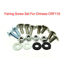 Fairing Screw Set Plastic Panel Bolt For Chinese CRF110 Pit Dirt Bike Motorcycle