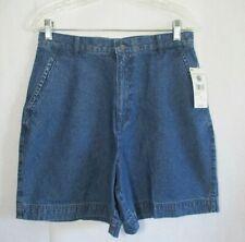 Studio Works Medium Wash Mid Rise Blue Jean Shorts NWT Size 12