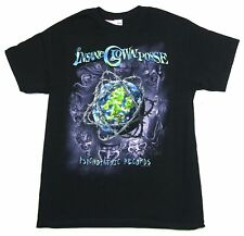 Insane Clown Posse Barbed Wire Globe Black T Shirt New Official ICP Merch