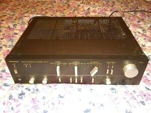 Vintage Technics SU-V7 Stereo Integrated DC Amplifier WORKS