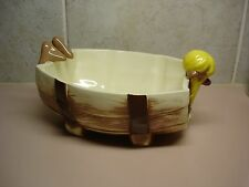 Twin Winton Hillbilly Clem Pretzel Bowl Yellow Hair Perfect Condition