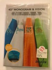 4D MONOGRAM AND VISION MONOGRAM SOFTWARE (NEW) inspira