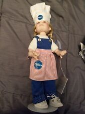 New ListingPillsbury Doughboy Danbury Mint Porcelain Doll 2002 + others Free Shipping!