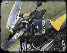 Bmw R1150Gs Adv 4 A4 Photo Print Motorbike Vintage Aged