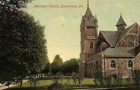 C.1910 Methodist Church, Lansdowne, Pa. Vintage Postcard P137