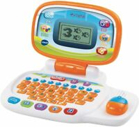 VTech 155403 Pre School Laptop Interactive Educational Kids White/Orange