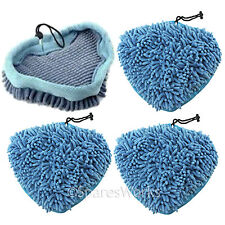4 x Coral Covers Pads for PIFCO 6 in 1 10 in 1 12 in 1 PS001 Steam Cleaner Mop