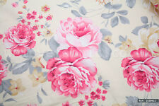 """Vintage Rose 100% cotton fabric sold by the meter 63""""width Craft Dress 1610012"""