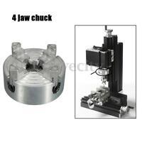 Mini 4-Jaw Metal Lathe Chuck CNC Milling Drilling Tool 1.8~56mm/12~65mm