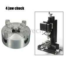Mini 4-Jaw Metal Lathe Chuck CNC Milling Drilling Tool 1.8~56mm/12~65mm