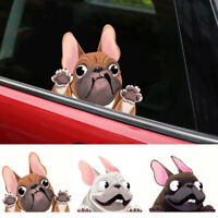 1x 3D Lovely Cartoon Dog Car Stickers Funny Trunk Window Vinyl Waterfoof Decals