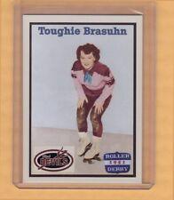 Toughie Brasuhn, First star of banked track Roller Derby, Brooklyn Red Devils