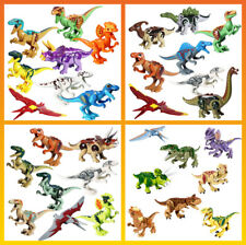 Jurassic Dinosaur Minifigures Sets Building Toys Fits Lego - Usa Seller