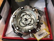 24272 Invicta Excursion 52mm Men's Quartz Multifunction Silver Dial Strap Watch