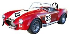 Solido 1965 SHELBY COBRA 427 Red #23 Cabriolet 1:18**Back in Stock**Rare find!