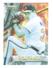 1994 BOWMAN'S BEST GREG MADDUX REFRACTOR ATLANTA BRAVES & HALL OF FAME 2014