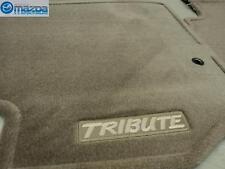 MAZDA TRIBUTE 2001-2004 NEW OEM BEIGE CARPETED FLOOR MATS 0000-8B-G06A-22