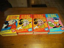 1987/1988/1990 LOT 4 Albums Reliures de Mickey Parade N° 10 - 11 (2) - 14